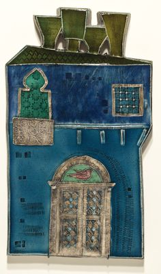 The Venetian Palace by Rut Bryk Miniature Houses, Ceramic Artists, Earthenware, Finland, Illustrations Posters, Sculpting, Clay, Pottery, Colours