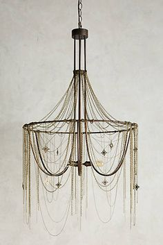 Rose Compass Chandelier
