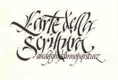 MB l'arte della scrittura by Luca Barcellona - Calligraphy & Lettering Arts, via Flickr