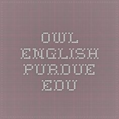 How to write an essay from: owl.english.purdue.edu