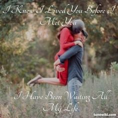 1000 images about song lyrics on pinterest aerosmith jason mraz and bon jovi for I knew i loved you by savage garden