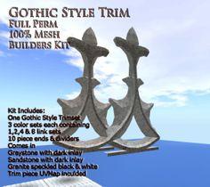 Gothic Trim Builders Set