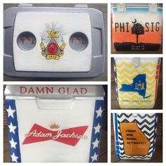 Phi Sigma Kappa, Budweiser, New York  Cooler | The Cooler Connection on Pinterest