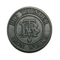 DLR - 2011 Hidden Mickey Series - Disneyland Icons Collection - Big Thunder Iron Works - Pin 85634