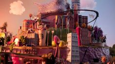 Long ago I saw my first Aardman / Nick Parks animation - claymation really. Way before Wallace & Grommit. As time goes by, Parks et al continue to create their own unique visions of things. Check out this video for their interpretation of Birmingham (UK). Bullring Birmingham 'We Are So City' Launch by isobel advertising