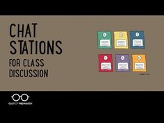 Want a quick and easy tool to get students more active and engaged with content? You'll find this with Chat Stations, a discussion framework so simple you can use it tomorrow to liven up your instructional routine. This video shows you how to do it.