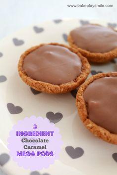 3 ingredient caramel mega pods