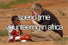 I soo want to do this, and see how many children's days I can make brighter... I think it'd be a great experience.