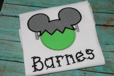 Personalized Halloween Mickey Mouse Shirt by EmaCallie on Etsy, $25.00