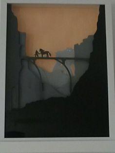 Mon premier tableau en 3D sur le thème de Shadow of the colossus
