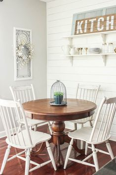 Dining Room arch window in dining room decor ideas - Internal Home Design Laminate Flooring: The Bas Farmhouse Dining Room Rug, Modern Farmhouse Decor, Farmhouse Style Decorating, Farmhouse Rules, Dining Room Paint Colors, Dining Room Design, Home Design, Design Ideas, Interior Design