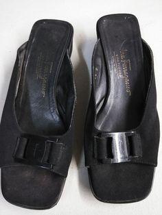 2eeea08aae62 ferragamo Boutique black flats size 6  fashion  clothing  shoes  accessories   womensshoes