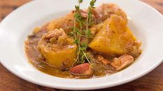 Recipe from Everyday Gourmet with Justine Schofield - potato ragout