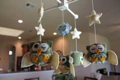 $70 owl mobile for nursery
