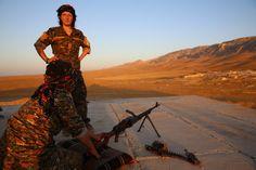 Military training offers Yazidi women chance to fight back, taste of freedom - CSMonitor.com