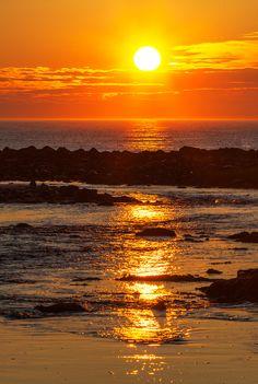 Sunrise over Rye Beach, New Hampshire (By Jeffrey Necomer)