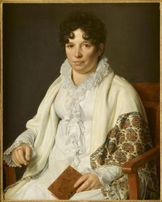 Mme Constantin, née Emilie Didot. Check this! Longish, but short (an uncomfortable length for me, but possible) hair! Curling appears to be a necessity.