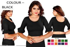 Checkout this latest Blouses Product Name: *Stylish Cotton lycra Solid Blouse* Fabric: Cotton Sleeve Length: Three-Quarter Sleeves Pattern: Solid Multipack: 1 Sizes: 28, 30, 32, 34, 36, Free Size Country of Origin: India Easy Returns Available In Case Of Any Issue   Catalog Rating: ★4.2 (4809)  Catalog Name: Free Gift Aashiyana Stylish Cotton lycra Solid Readymade Blouse Vol 15 CatalogID_507793 C74-SC1007 Code: 672-3642116-024