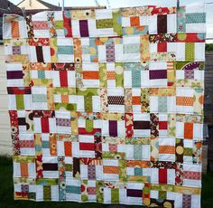 Front of Freebird quilt for Siblings Together by Reene@Nellie's Niceties, via Flickr