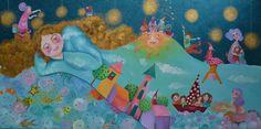 Alexia Molino - Il sogno (50x100)