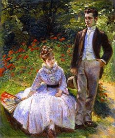 Marie Bracquemond The Artist's Son and Sister in the Garden at Sevres - Marie Bracquemond - Wikipedia