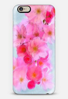 Cherry Blossom iPhone 6 case Check out my new @Casetify   Make yours and get $10 off your first order using code: ZN4AQG  #casetify #case #iphonecase #phonecover #discount #offer #discountcode #flowers #floral #cherryblossom #blossom #pink