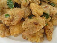 Beachloverkitchen: Salt and Pepper Chicken with Oregano