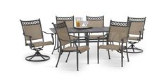 Manhattan 7 Piece Patio Set By Agio | HOM Furniture