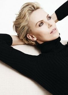 Charlize Theron: Karim Sadli Photoshoot 2014 for Dior -05 Pretty makeup-eyes in rose metallic.