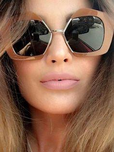 a95a35483f3 Fashion Big Frame Style Lens Sunglasses Stylish Sunglasses