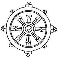 Dharmachakra - Buddhist symbol of transformation