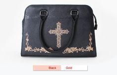 MuFish -Rose Cross- Lolita Handbag Cross Body Bag Version II