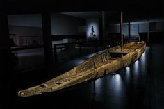 This 102-foot-long Roman barge from the first century A.D. was lifted in 2011 from the Rhône River in Arles, France. It was virtually intact after two millennia in the mud.