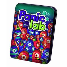 Panic Lab, Gigamic, 2012 (image provided by the publisher) Lab Games, Lab Image, Game Expo, Cool Headed, Typing Games, Tabletop Games, Matching Games, Board Games, Give It To Me