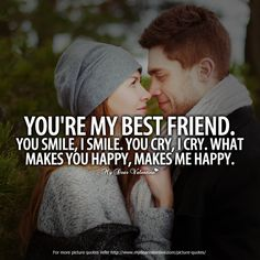 You are Baby.and YOU are my Man!to comfort you.protect you.hold you.make you smile.make you feel loved & wanted.I Love YOU so much! I Miss YOU like crazy! Cute Couple Quotes, Love Quotes For Him, Cute Quotes, Funny Quotes, Friendship Day Quotes, Bff Quotes, Relationship Quotes, Relationships, Qoutes