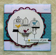 Aviary trio by lincoln4460 - Cards and Paper Crafts at Splitcoaststampers