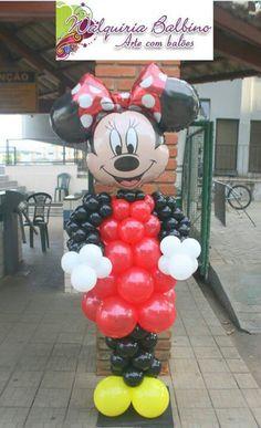 Balloon Decoration - Minnie Mouse