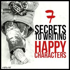 Writers Write creates and shares writing tips. In this post, we share the secrets to writing happy characters without boring your audience. Fiction Writing, Writing Advice, Writing Ideas, Creative Writing, Writing A Book, Writing Prompts, Character Names, Character Ideas, Writers Conference