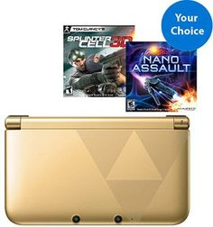 Nintendo 3DS XL Zelda Bundle w/ Choice of 2 Games