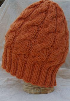 Ravelry: Austin Slouchy Cable Beanie pattern by Gari Lynn