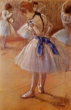 The Dance Studio, 1878 Degas