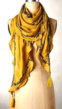 Love this sequined scarf for fall #anthrofave http://rstyle.me/n/qiw4vnyg6