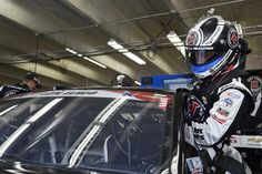 At-track photos: Saturday, Charlotte:   Saturday, May 28, 2016  -   CHARLOTTE, NC - MAY 28: Kevin Harvick, driver of the No. 4 Jimmy John's Chevrolet, climbs into his car during practice for the NASCAR Sprint Cup Series Coca-Cola 600 at Charlotte Motor Speedway on May 28, 2016 in Charlotte, North Carolina.