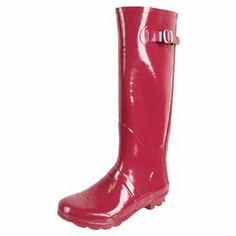 Gisele Rain Boots in Berry