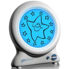 online shopping for The Gro Company Gro-Clock Sleep Trainer from top store. See new offer for The Gro Company Gro-Clock Sleep Trainer Toddler Alarm Clock, Learn To Tell Time, Star Images, Thing 1, Sun And Stars, Digital Clocks, Stay In Bed, Bedtime Stories, Looks Cool