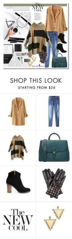 """""""Workin at the coffee place kind of outfit!"""" by anja-pixie-jovanovic ❤ liked on Polyvore featuring Burberry, Valentino, Amber Sceats, women's clothing, women's fashion, women, female, woman, misses and juniors"""