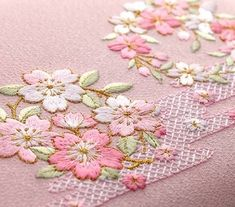 Hottest Pic Japanese Embroidery cherry blossoms Popular Sashiko can be submit form of Japanese men and women adornments having a variance of a managing stit Hardanger Embroidery, Learn Embroidery, Hand Embroidery Stitches, Hand Embroidery Designs, Embroidery Techniques, Ribbon Embroidery, Embroidery Thread, Machine Embroidery, Embroidery Supplies