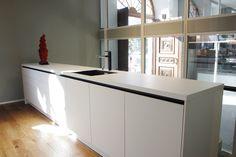 Die Schlichte SieMatic Küche Strahlt In Unserem Neuen Studio In Voller  Pracht. #designkueche