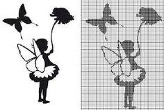 """Résultat de recherche d'images pour """"grilles point de croix abecedaire pour enfants gratuit"""""""