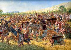 Battle of Amphaeia IGOR DZIS BATTLE PAINTING